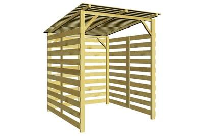 Outil pour couper et débiter le bois GENERIQUE Accessoires pour cheminées et poêles à bois serie managua abri de stockage du bois de chauffage bois de pin imprégné
