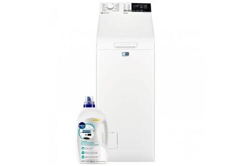 Lave-linge top 6kg 1200trs/min a+++ tambour 42l duodose machine à laver
