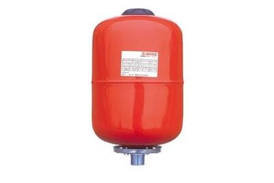 Accessoires chauffage central Jetly Réservoir pression à vessie interchangeable - modèle en ligne 8 bars - capacité 8 litres - hauteur 330 mm - diamètre du réservoir 200 mm