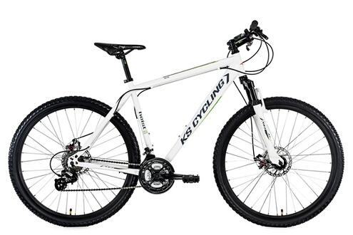 Vtt semi rigide 27 5'' heist blanc tc46cm kscycling