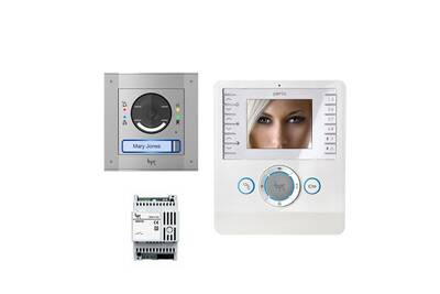 Accessoires pour alarme CAME Kit portier vidéo mtm-bianca avec convertisseur - came