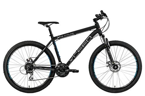 Vtt semi-rigide 27 5'' aluminium xceed noir tc49cm kscycling