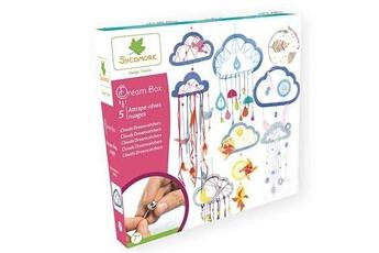 Autres jeux créatifs AU SYCOMORE Kit créatif au sycomore dream box attrapes rêves nuages