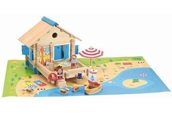 Tapis de jeu et tapis de sol JeuJura Maison du bord de l'eau 120 pieces