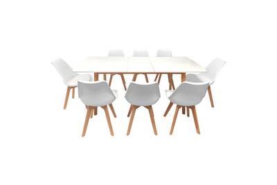 Ensemble Table Chaise Happy Garden Ensemble Table Extensible 160