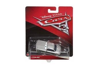 Circuits de voitures Cars Voiture disney cars 3 sterling vehicule miniature gris re-v63