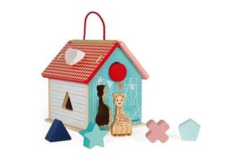 Eveil & doudou bio JANOD Maison des formes janod sophie la girafe