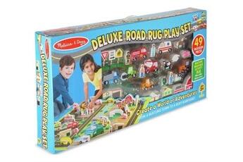 Circuits de voitures MELISSA & DOUG Playset melissa & doug tapis de routes deluxe