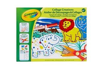 Autres jeux créatifs CRAYOLA Kit créatif crayola atelier de découpages et collages