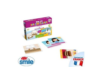 Jeux ludo éducatifs Les Maternelles Mon jeu des contraires les maternelles