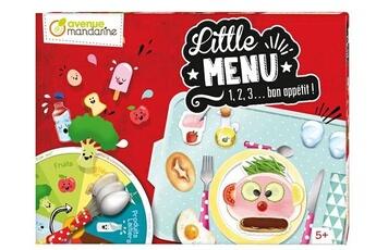 Jeux ludo éducatifs AVENUE MANDARINE Jeu de plateau avenue mandarine little menu