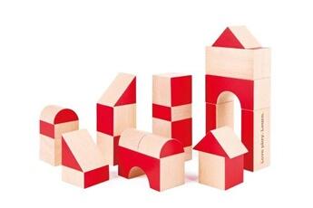 Eveil & doudou bio Hape Set de 30 cubes en bois hape edition anniversaire limitée