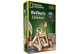 Jeux ludo éducatifs National Geographic Les inventions de vinci national geographic la catapulte