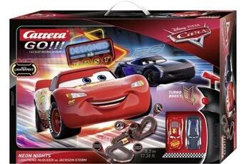 Circuits de voitures Carrera Piste de jouet électrique disney cars neon nights carrera go!!!