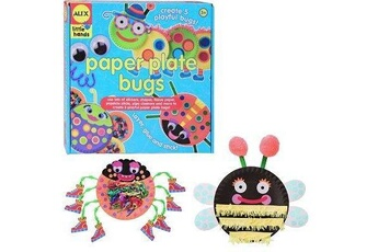 Autres jeux créatifs Alex Kit créatif - coffret assiettes en papier : insectes à créer