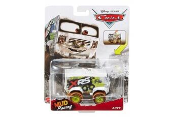Circuits de voitures Cars Voiture disney cars deluxe mud racing xtreme racing series arvy vehicule miniature blanc re-bj45