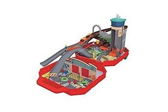 Circuits de voitures Majorette Mallette de jeu transportable dickie sam le pompier