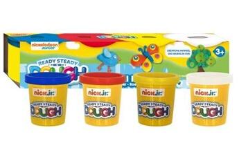 Pâte à modeler et bougie Joustra Pâte à modeler 4 jumbo pots joustra
