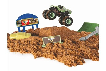 Figurines animaux Spin Master Voiture monster jam monster dirt échelle 1:64