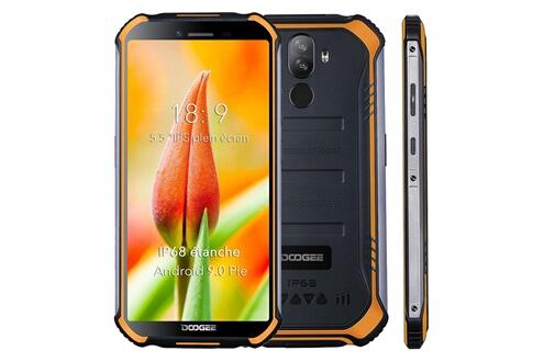 Doogee Doogee s40 lite telephone portable incassable debloqué android 9.0 smartphone etanche ip68 4650mah 5.5