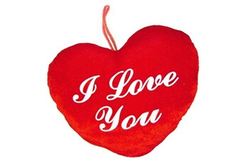 Autres jeux de construction GENERIQUE Peluche coeur i love you 14x12 cm cadeau amour doudou a suspendre
