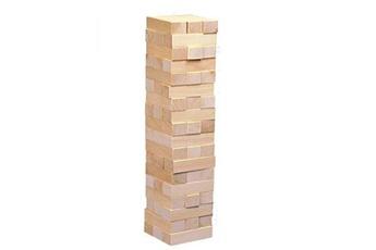Figurines personnages GENERIQUE Jeu d'équilibre en bois goki : la tour infernale