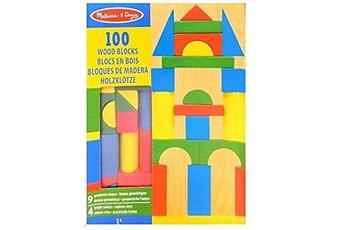 Masques MELISSA & DOUG Set de 100 blocs en bois melissa et doug