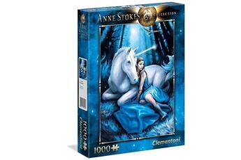 Jouets éducatifs CLEMENTONI Clementoni anne stokes collection puzzle - blue moon - 1000 pièces, 39462, multi-colour