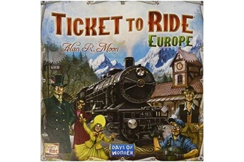 Aire de jeux GENERIQUE Days of wonder - aventuriers du rail. Europe - ticket to ride europe - langue: anglais