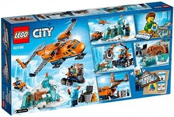 Lego Lego City City 60196 l'avion de ravitaillement arctique