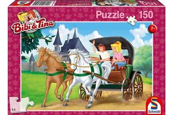 Puzzles Schmidt Schmidt- puzzle bibi et tina-en calèche 150 pièces, 56051