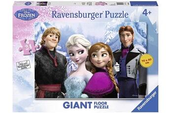 Puzzles RAVENSBURGER Ravensburger - 2405438 - puzzle - la reine des neiges - le monde d'elsa - 24 pi?ces