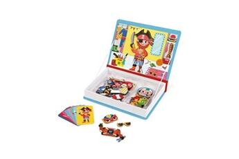 Autres jeux créatifs JANOD Jeu janod magnéti'book déguisement garçon 36 magnets bleu