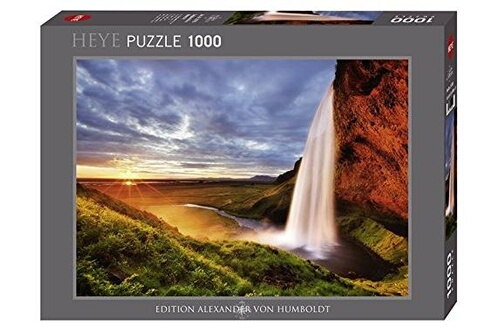 Heye- puzzle seljalandsfoss waterfall 1000 pièces  29769