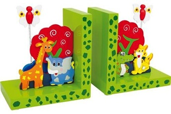 Peluches SMALL FOOT Serre-livres « animaux sauvages »