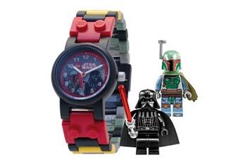 Lego Lego Montre enfant star wars avec figurine dark vador et bobba feet