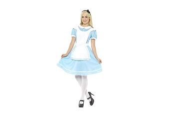 Accessoires de déguisement Smiffy's Smiffys 41012xs déguisement femme, costume princesse du pays des merveilles xs blue