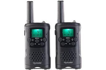 Véhicule à pédales Simvalley Communications Talkies-walkies avec fonction vox, portée 10 km wt-320