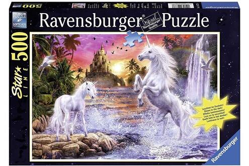 Ravensburger - 14873 - puzzle - star line belles licornes - 500 pièces