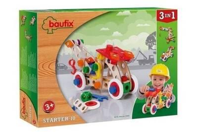 Baufix 10300 Jeu De Construction En Bois Set Starter 10