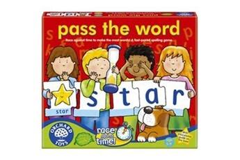 Peluches GENERIQUE Orchard toys - jeu de société - passe le mot - pass the word - langue : anglais