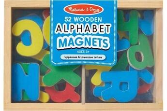 Accessoires de déguisement MELISSA & DOUG Melissa & doug 52 magnets alphabet en bois