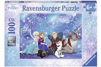 Puzzles RAVENSBURGER Ravensburger - 10911 1 - puzzle - la reine des neiges - magie de glace - 100 pi?ces
