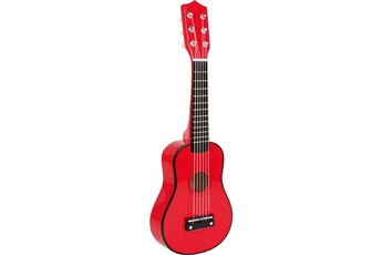 Jeux d'imitation SMALL FOOT Guitare, rouge