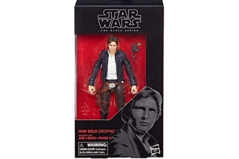 Figurines personnages Star Wars Figurine star wars black series han solo bespin 15 cm