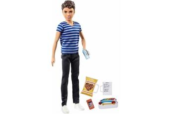 Jeux en famille Barbie Poupée barbie babysitter garçon avec accessoires