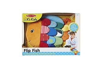 Accessoires pour maquette GENERIQUE Melissa & doug peluche multi-texturée pour bébé, poisson flip, enfant