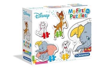 Jeux ludo éducatifs CLEMENTONI Clementoni - 20806 - my first puzzle - animal friends - 3,6,9,12 pièces - disney