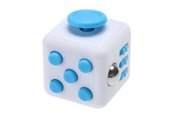 Pâte à modeler et bougie Fidget Fidget hand spinner cube anti-stress et anti-anxiété bleu