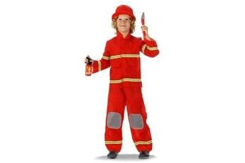 Peluches GENERIQUE Pompier costume de pompier pour enfant enfants costume 3-5 ans taille s unbekannt f-21878